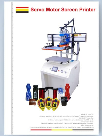 2016 Feature of FINECAUSE Screen Printer
