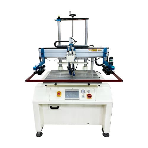 Servo Screen Printer w/Platform with 7 inch panel