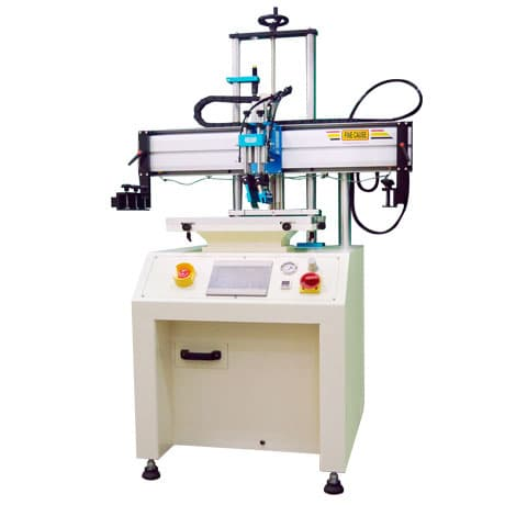 Servo Motor Screen Printer/screen printing machine w/Platform