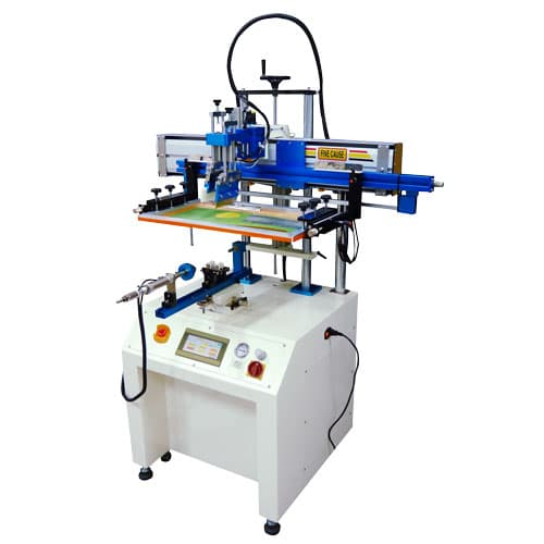 Servo Motor Screen Printer for Curved Objects