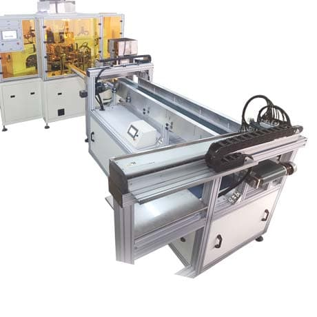 Automatic Full Servo Motor 4 Color Contact Lenses Printing Machine