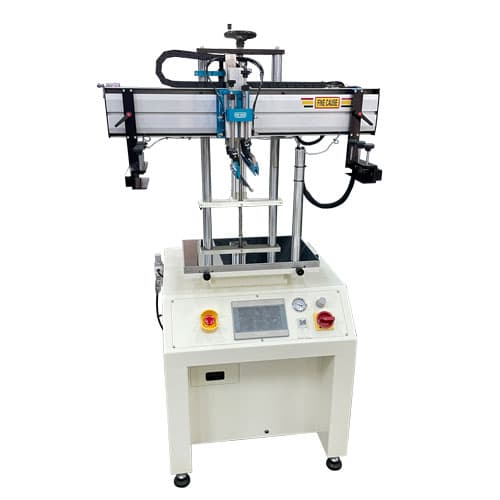 Servo Motor Screen Printer w/suction Function
