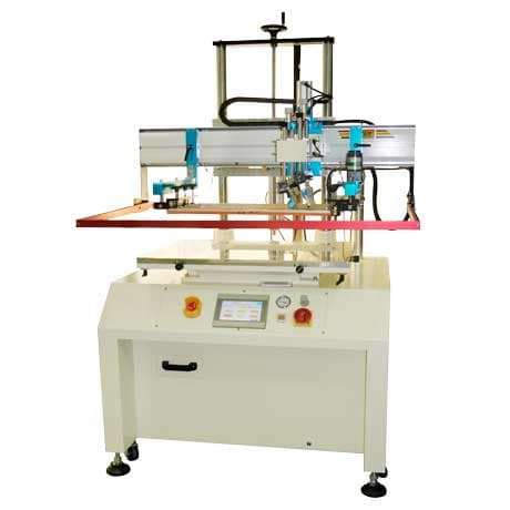 Servo Motor Vacuum Table Screen Printer/screen printing machine