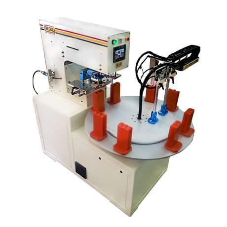 2-color Rotary Platform Pad Printer/pad printing machine