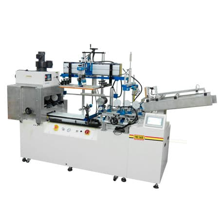 Automatic bottle screen printing machine