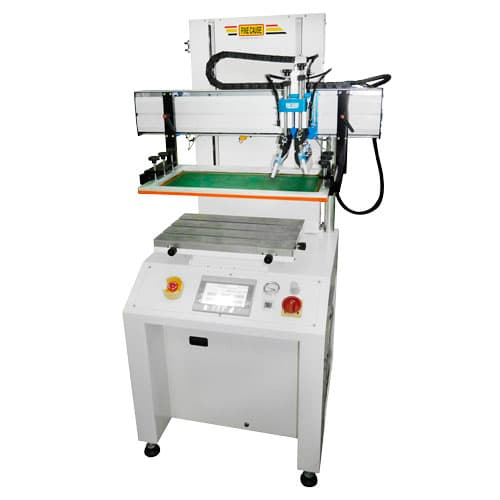 Dual Axle Servo Motor Platform screen printing machine/Screen Printer